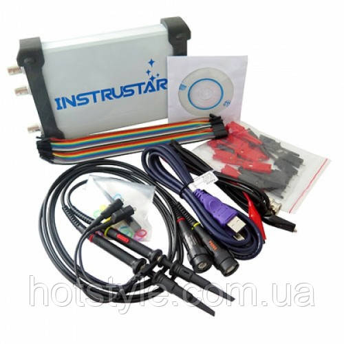 Осциллограф USB приставка ISDS205X, DDS, лог анализатор, 2 канала 20МГц, 103000