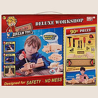 Детский набор инструментов 90+ предметов DREAM TOOL DELUXE WORK SHOP
