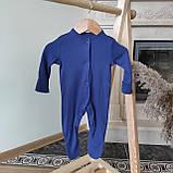 Хлопковый слип с ножками Gеоrgе  0-3м 56-62см., фото 6