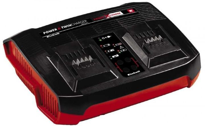 Зарядное устройство для двух аккумуляторов Einhell 18 В Power-X-Twincharger 3 A
