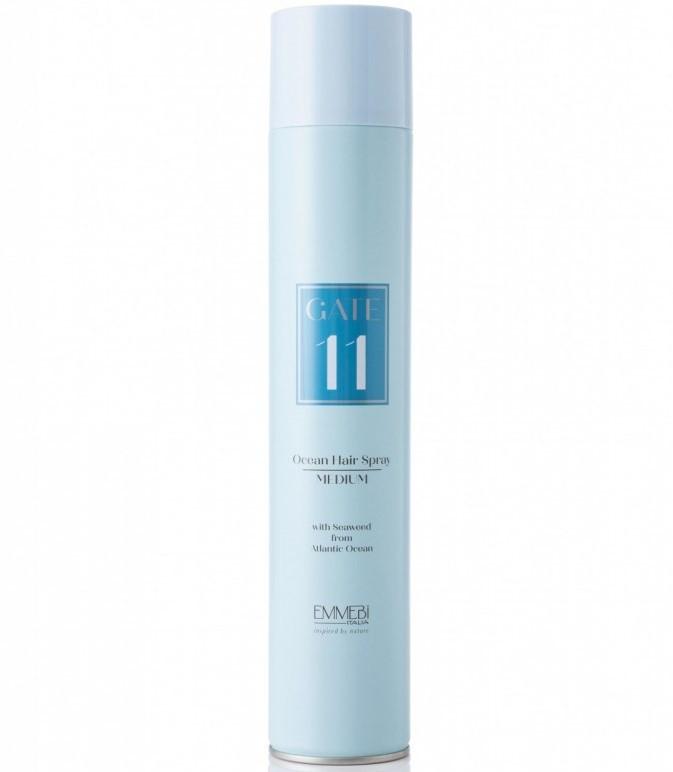 Сухой лак средней фиксации  Emmebi GATE11 Ocean Hair Spray Medium 500 мл