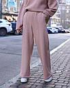 Спортивный костюм женский  бежевый на флисе сезон зима Джин от бренда Тур, размеры: S-M, фото 3