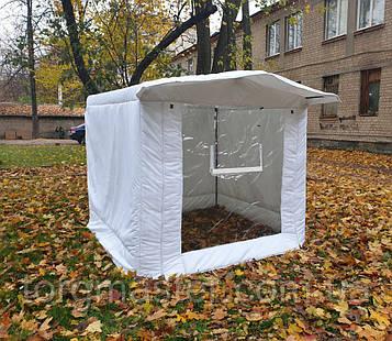 Торговая палатка для зимы утепленная с передней стенкой 2Х2 м