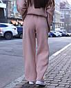 Спортивный костюм женский  бежевый на флисе сезон зима Джин от бренда Тур, размеры: S-M, фото 4
