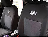 Авточехлы Ника на Kia Rio 3 от 2011 года седан раздельный ,Киа Рио 3, фото 5