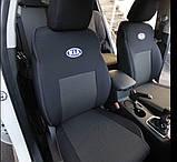 Авточехлы Ника на Kia Rio 3 от 2011 года седан раздельный ,Киа Рио 3, фото 7