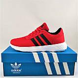 Кроссовки Adidas Мужские Красные Адидас BOOST (размеры: 41,42,43,44,45) Видео Обзор, фото 5
