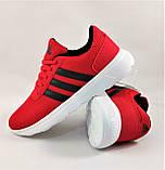 Кроссовки Adidas Мужские Красные Адидас BOOST (размеры: 41,42,43,44,45) Видео Обзор, фото 7