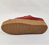 Женские Кроссовки PUMA Слипоны Красные Мокасины Пума Бордо (размеры: 36,37,38,39,40), фото 4