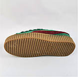 Женские Кроссовки PUMA Слипоны Зеленые Мокасины Пума Хаки (размеры: 36,37,38,39,40), фото 5