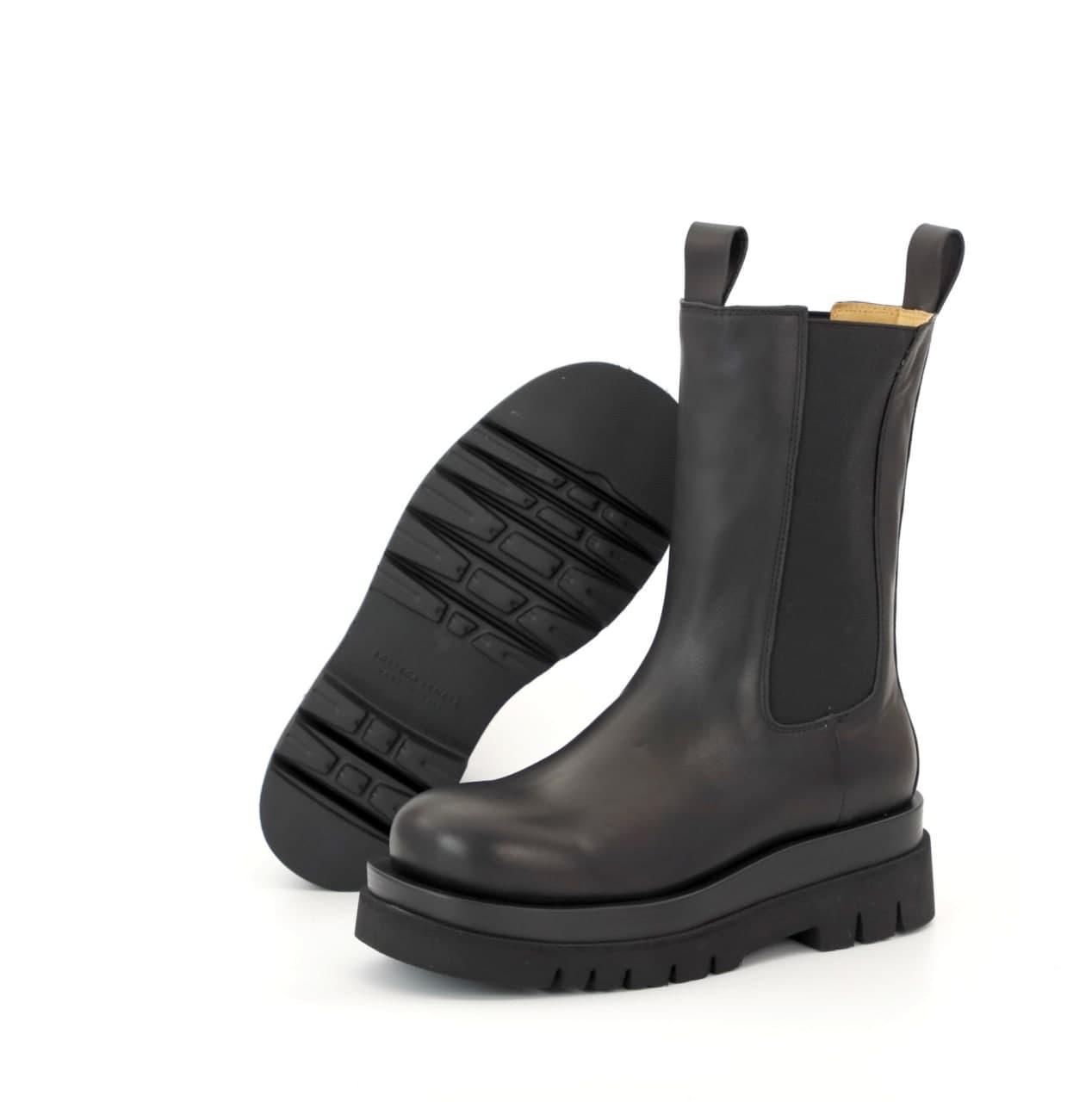 Женские ботинки Bottega Veneta 31872 черные