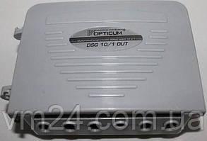 Комутатор DiSEqC Switch багатопротокольний 10x1 Опис DiSEqC 1.0, 1.1, 1.2 10x1 ORTON