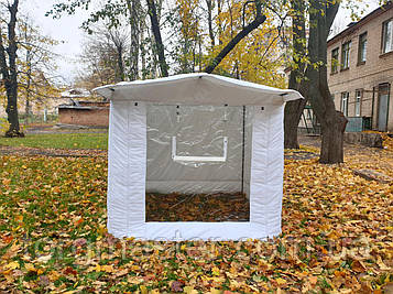 Торговая палатка для зимы утепленная с передней стенкой 3Х3 м
