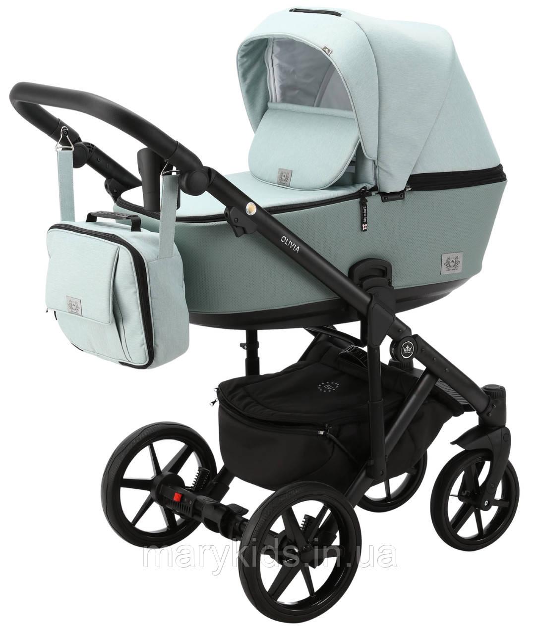 Детская универсальная коляска 2 в 1 Adamex Olivia PS-25