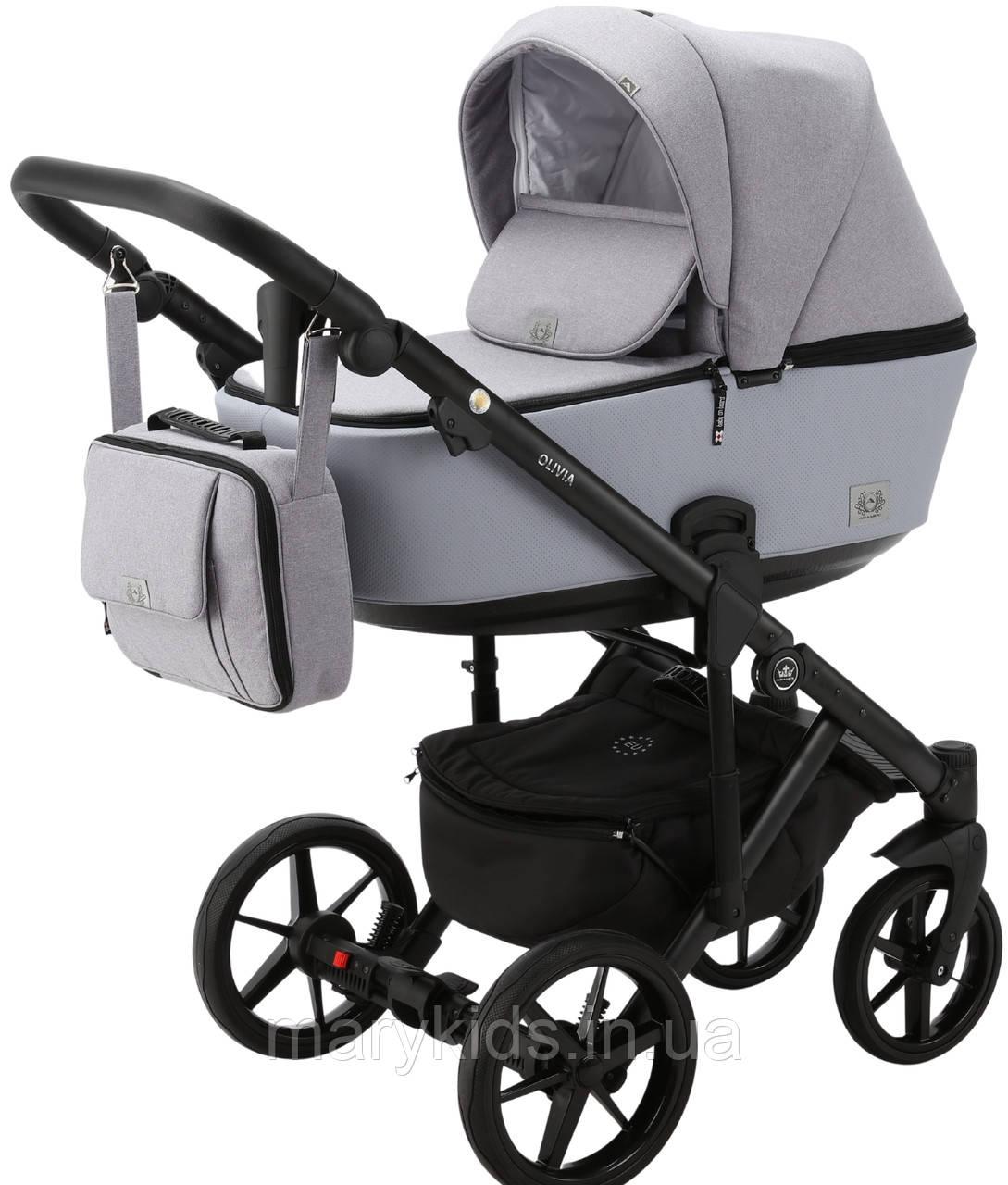 Детская универсальная коляска 2 в 1 Adamex Olivia PS-32