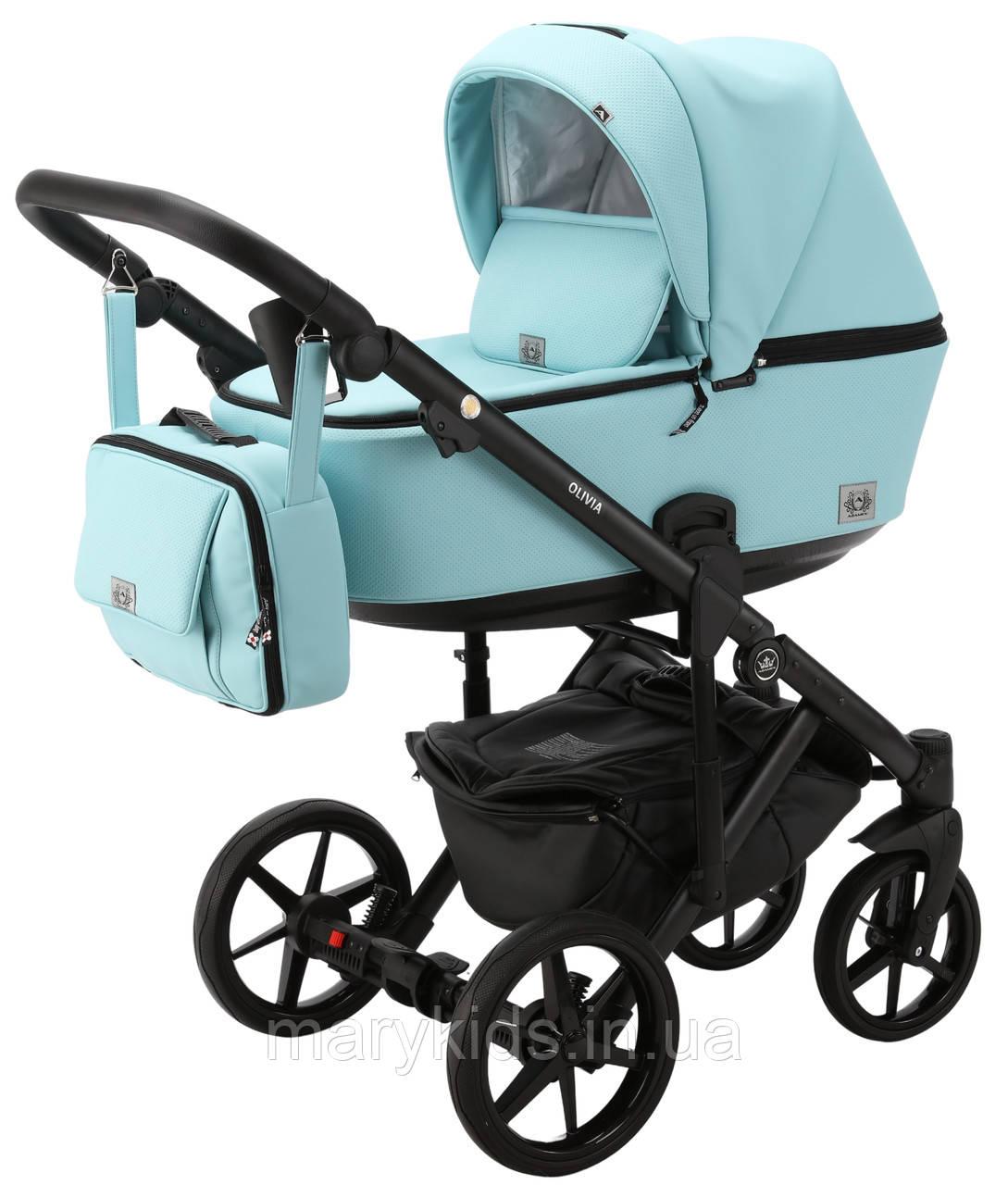 Детская универсальная коляска 2 в 1 Adamex Olivia SA-19