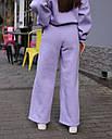 Спортивный костюм женский  лиловый на флисе сезон зима Джин от бренда Тур, размеры: S-M, фото 7
