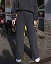 Спортивный костюм женский  в цвете графит на флисе сезон зима Джин от бренда Тур, размеры: S-M, фото 6