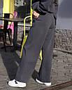 Спортивный костюм женский  в цвете графит на флисе сезон зима Джин от бренда Тур, размеры: S-M, фото 7