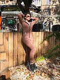 Тёплый женский комбинезон, фото 3
