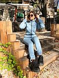 Тёплый женский комбинезон, фото 7