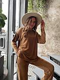 Женский велюровый костюм 13-351, фото 9