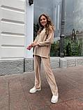 Женский велюровый костюм 13-351, фото 4