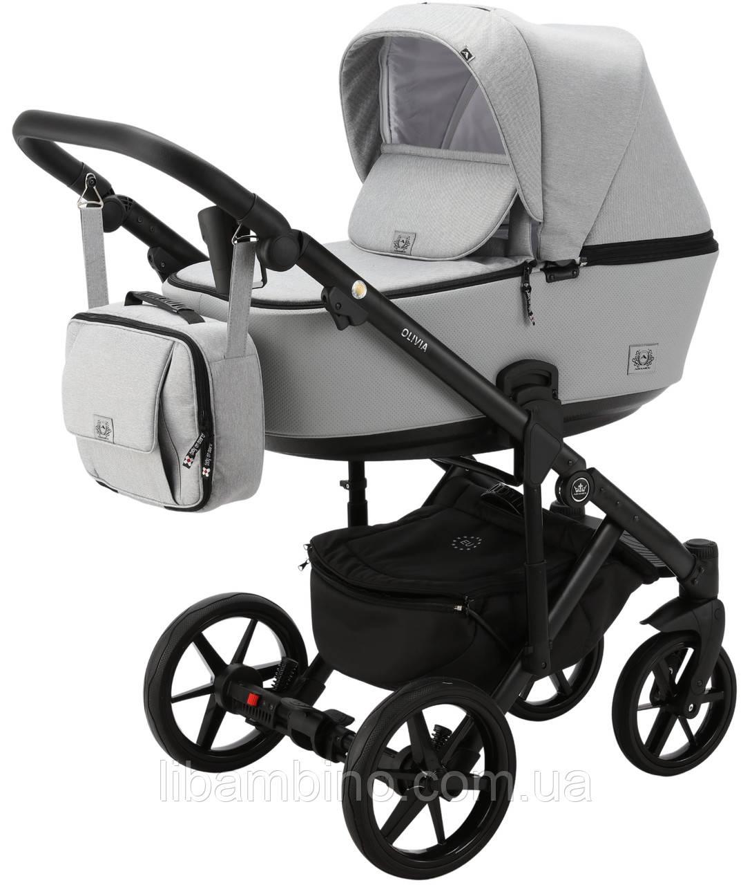 Дитяча універсальна коляска 2 в 1 Adamex Olivia PS-11