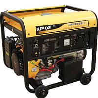 Однофазный бензиновый генератор Kipor KGE6500E (5,5 кВт)