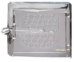 Дверка топочная 265*250 мм нерж. ГОСПОДАР 92-0366