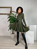 Трикотажное платье миди с сумочкой 13-356, фото 8