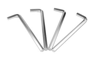 Ключ шестигранный CrV 16,0мм L75-246мм, 4шт MASTERTOOL 75-0016