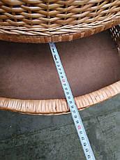 Комод плетений з чотирма ящиками, фото 3