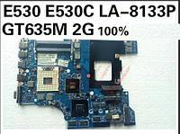 Материнская плата Lenovo ThinkPad Edge E430, E530 QILE2 LA-8133P (S-G2, HM77-SLJ8C, DDR3, GT635M n13p-glr-a1 2