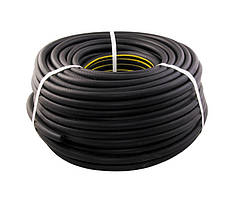 Шланг резиновый для газовой сварки II-6-0,63 МБС, 50 м. (бензин,уайт-спирит,керосин),0,63 Мпа ГОСПОДАР 81-8412