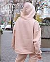 Спортивный костюм женский  бежевый на флисе сезон зима Эми от бренда Тур, размеры: S,M, фото 7