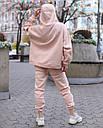 Спортивный костюм женский  бежевый на флисе сезон зима Эми от бренда Тур, размеры: S,M, фото 8