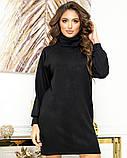 Теплое платье-туника из ангоры 23-609, фото 2