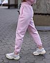 Спортивный костюм женский  розовый на флисе сезон зима Эми от бренда Тур, размеры: S,M, фото 4