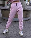 Спортивный костюм женский  розовый на флисе сезон зима Эми от бренда Тур, размеры: S,M, фото 5