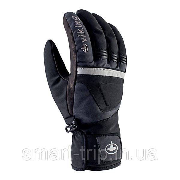 Перчатки VIKING Hurricane 8 (XS) мужские кожанные мембранные 2021 черные 112/18/1641/08-8