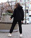 Худи женское черное Эми от бренда ТУР размер S,M, фото 3