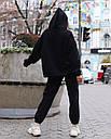 Худи женское черное Эми от бренда ТУР размер S,M, фото 4