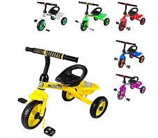 Велосипед трехколесный (от 2 до 6 лет) TILLY TRIKE T-315с EVA колесами и корзиной, Разные Цвета