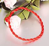 Браслет красная нить, фото 3