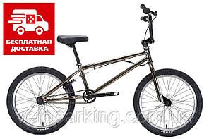 Велосипед прыжковый BMX Titan Flatland 20 трюковый (2021) new