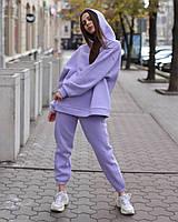 Худи женское лиловое Эми от бренда ТУР размер S,M