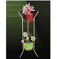 Подставка для цветов под 2 вазона