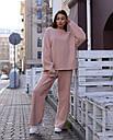 Свитшот женский бежевый Джин от бренда ТУР размер S-M, фото 2