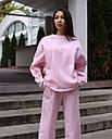 Свитош женский розовый Джин от бренда ТУР размер S-M, фото 2